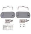 Weaver Davit Kit Complete Grey