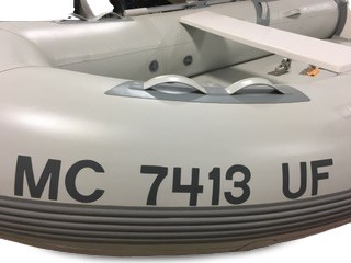 Boat Number Registration Kit