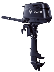 Tohatsu MFS5CS Manual Start 15 Inch Shaft