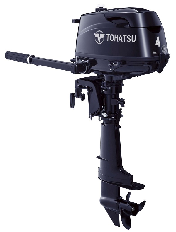 Tohatsu MFS4CDL HP Manual Start 20 Inch Shaft